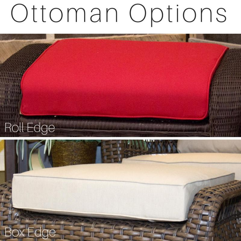NorthCape Charleston Ottoman Cushion
