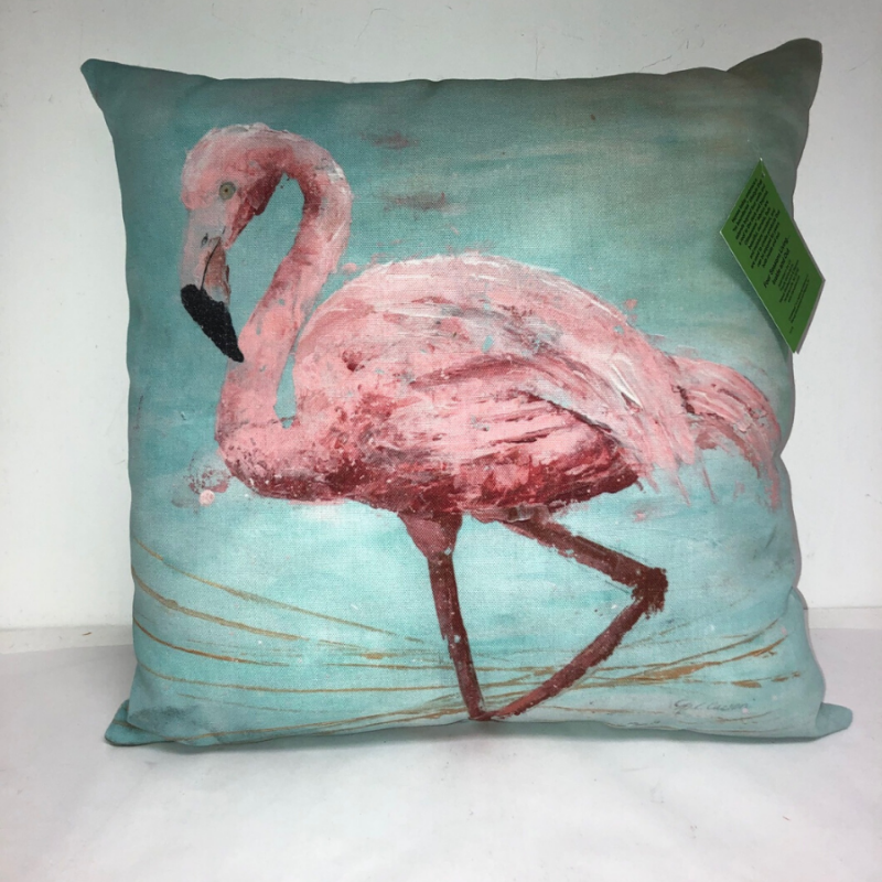 Pink Flamingo Indoor Pillow