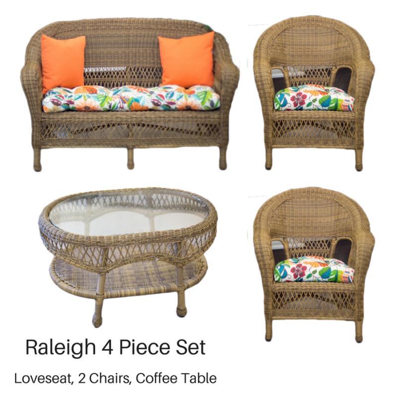 Raleigh 4 Piece Set   Antique