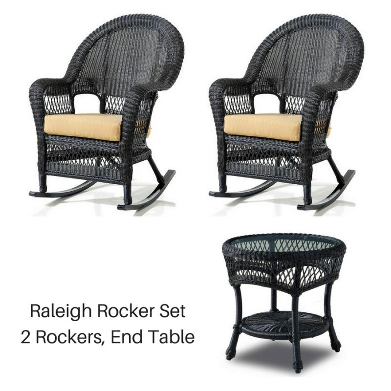 Raleigh Rocker Set - Ebony