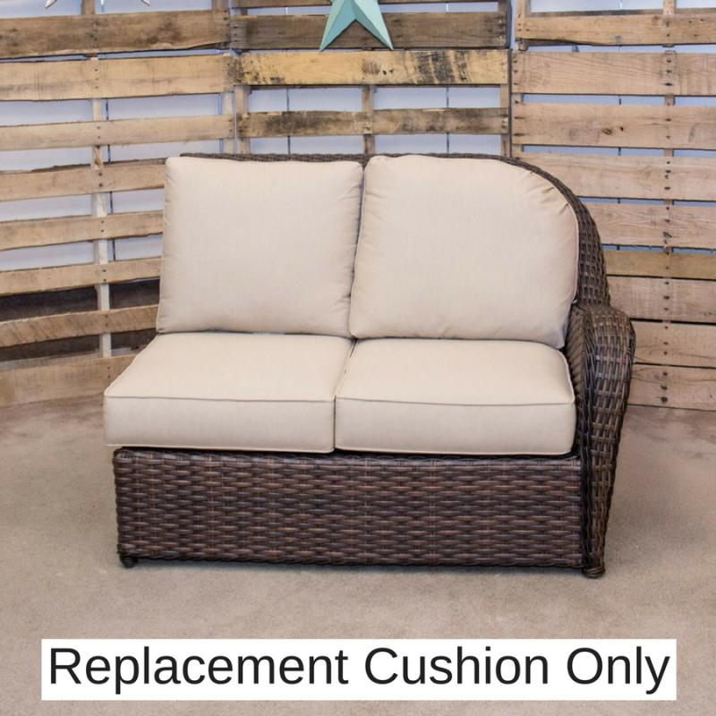 Replacement Cushion - Havana Right Loveseat by Erwin & Sons