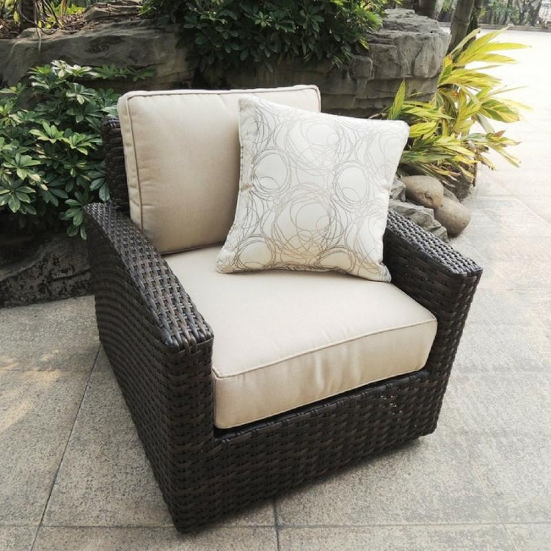 Biscayne Swivel Glider Rosewood Erwin Amp Sons Biscayne