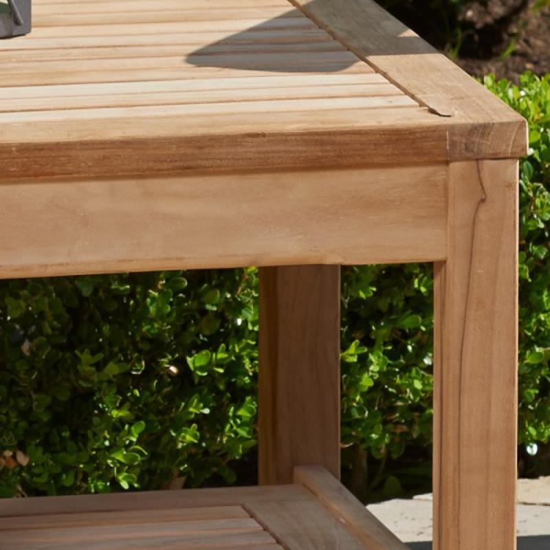 Valencia Teak End Table by NorthCape