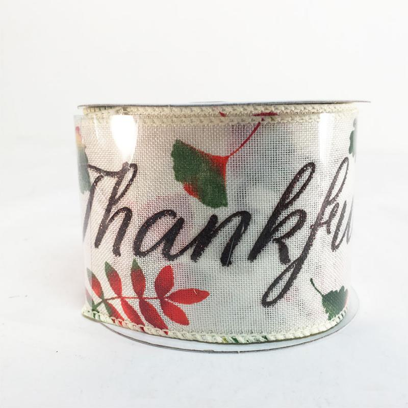 2.5 x 10Y Thankful Ribbon