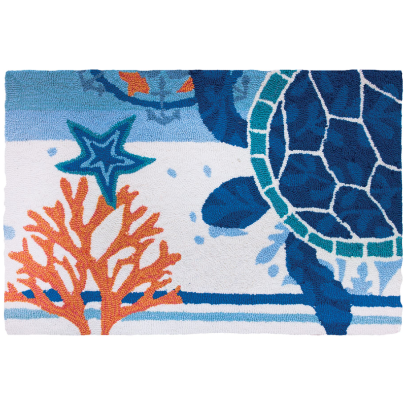 Homefires PY-JB101 Turtle Medallion Rug