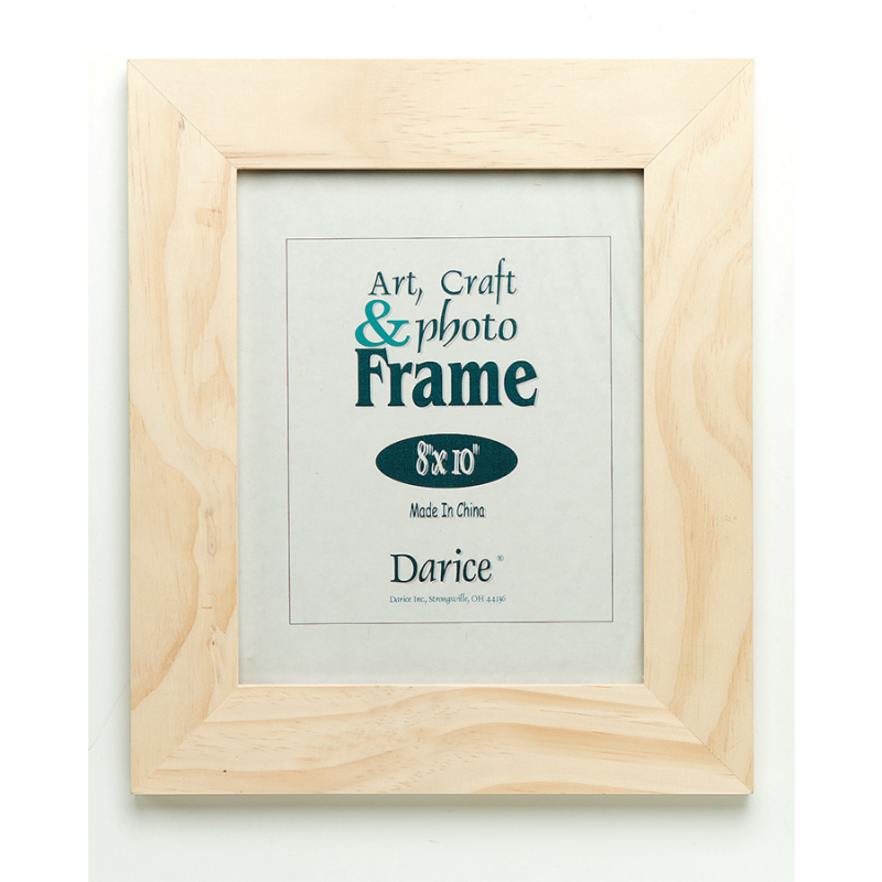 8x10 Unfinished Wood Frame | Home Accents