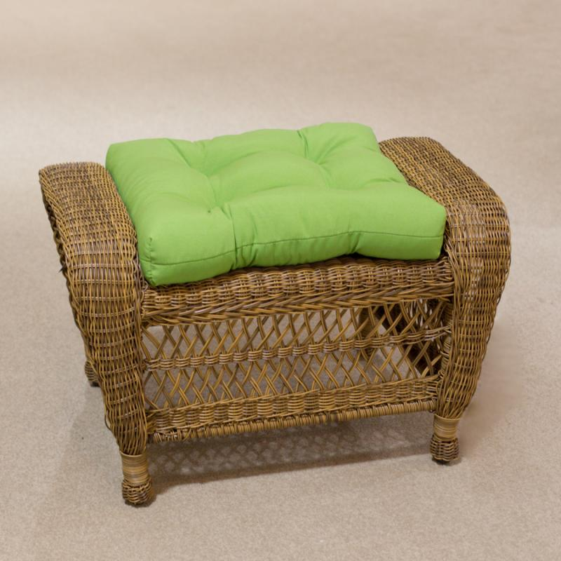 Raleigh Antique Ottoman by Erwin & Sons