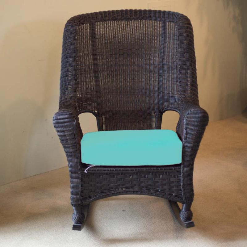 Carolina Ebony High-Back Rocker by Erwin & Sons