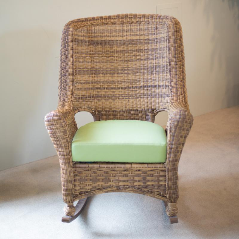 Carolina Antique High-Back Rocker by Erwin & Sons