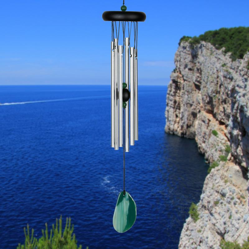 Agate Windchime - Green