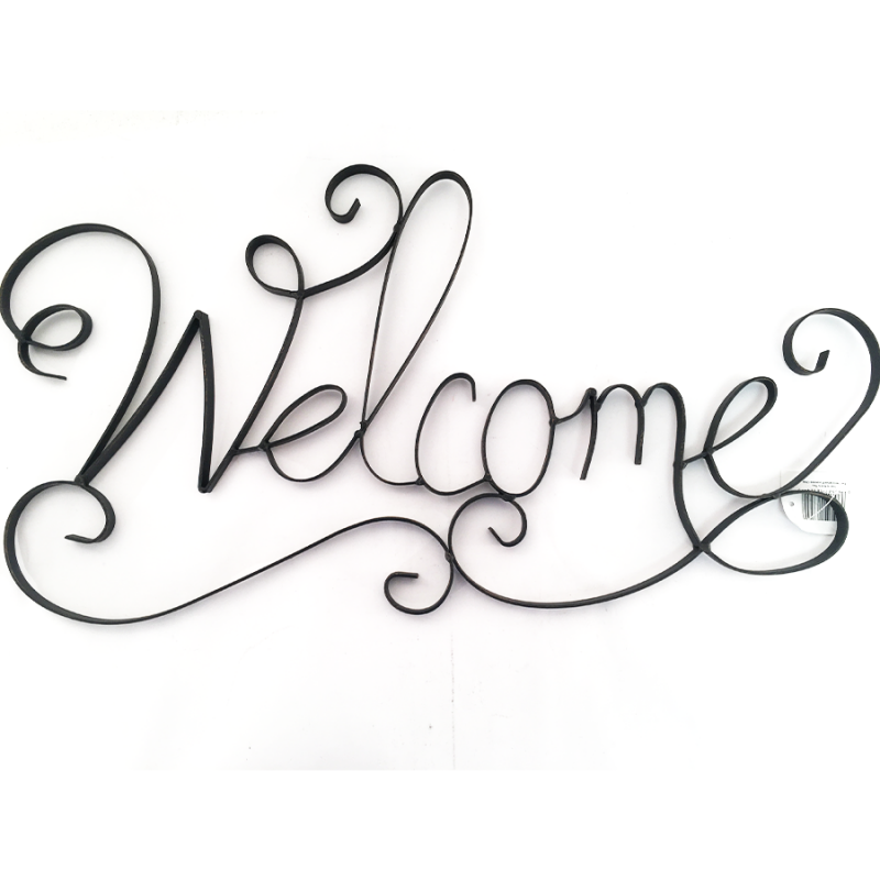 Youngs 16824 Metal Welcome Sign