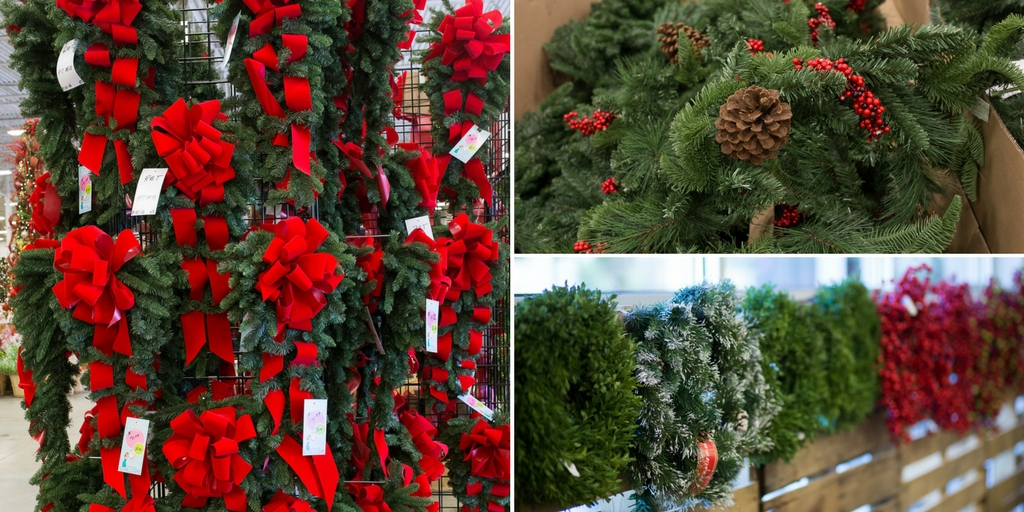 stop into one of our 5 store locations to see all of our christmas trees and greenery - Christmas Greenery
