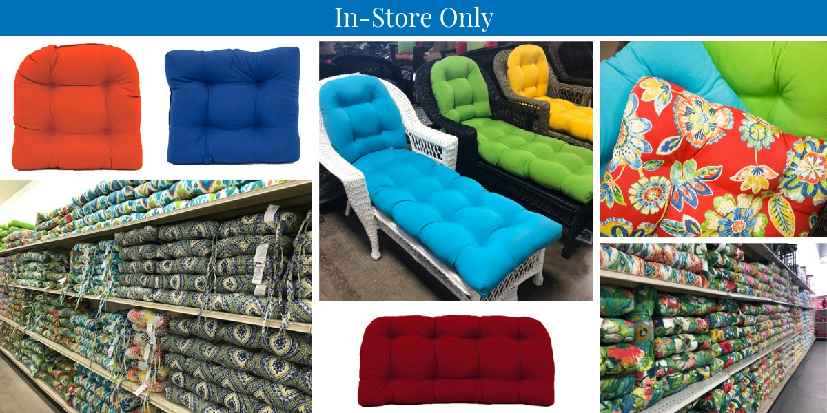 We Carry A Year Round Ortment Of Traditional Outdoor Cushions As Well Spring And Summer Fall Even Christmas