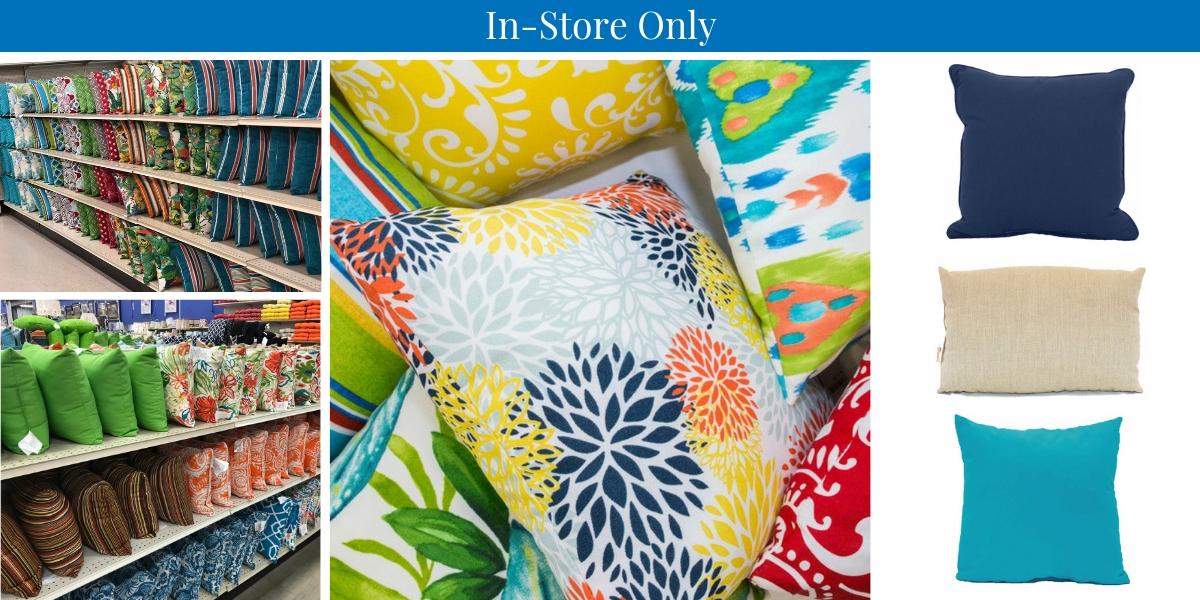 Carolina Pottery Outdoor Pillows