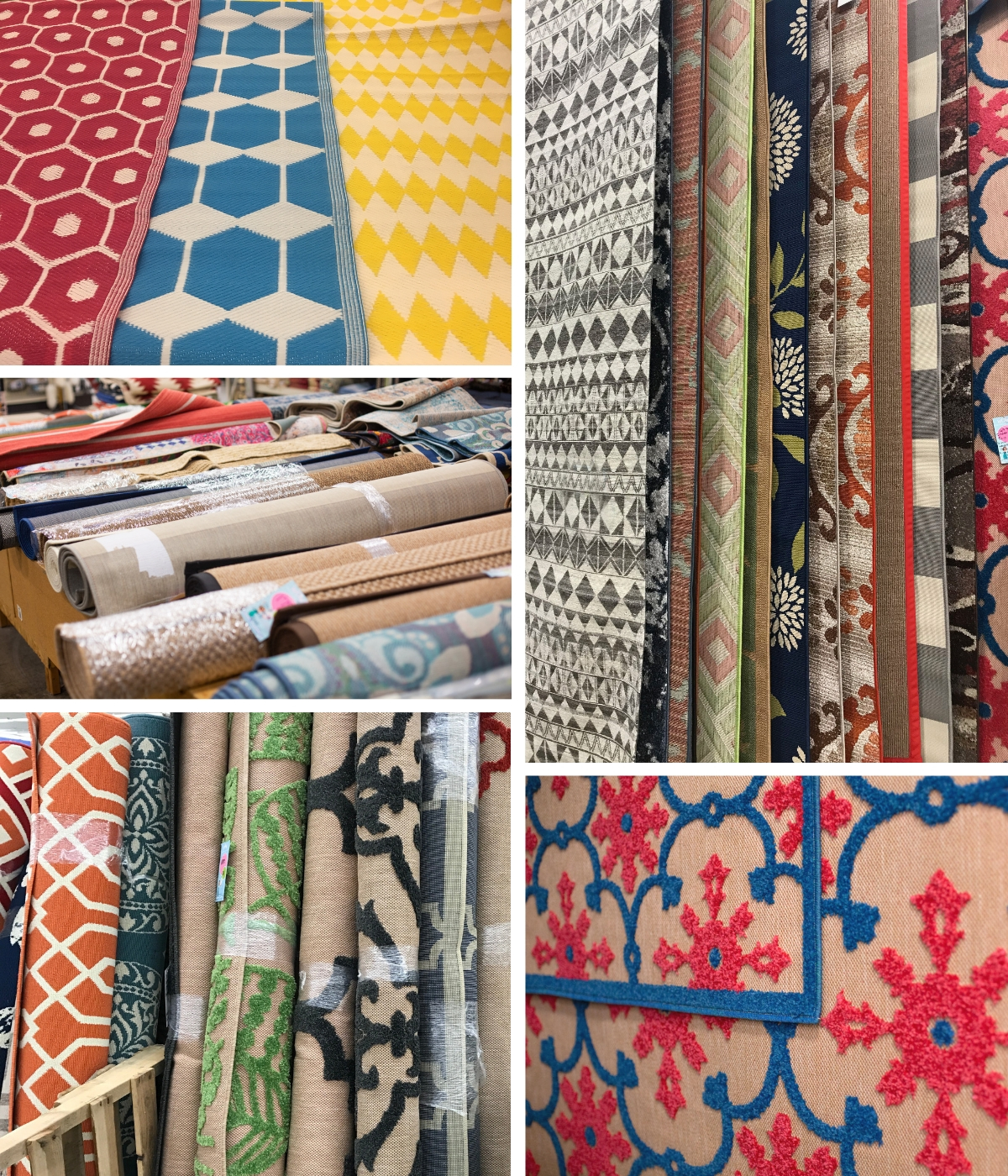 Round Outdoor Rug Or Runner Carolina Pottery Has What You Need We Also Stock An Ortment Of Sizes Ranging From 2x3 To 8x10